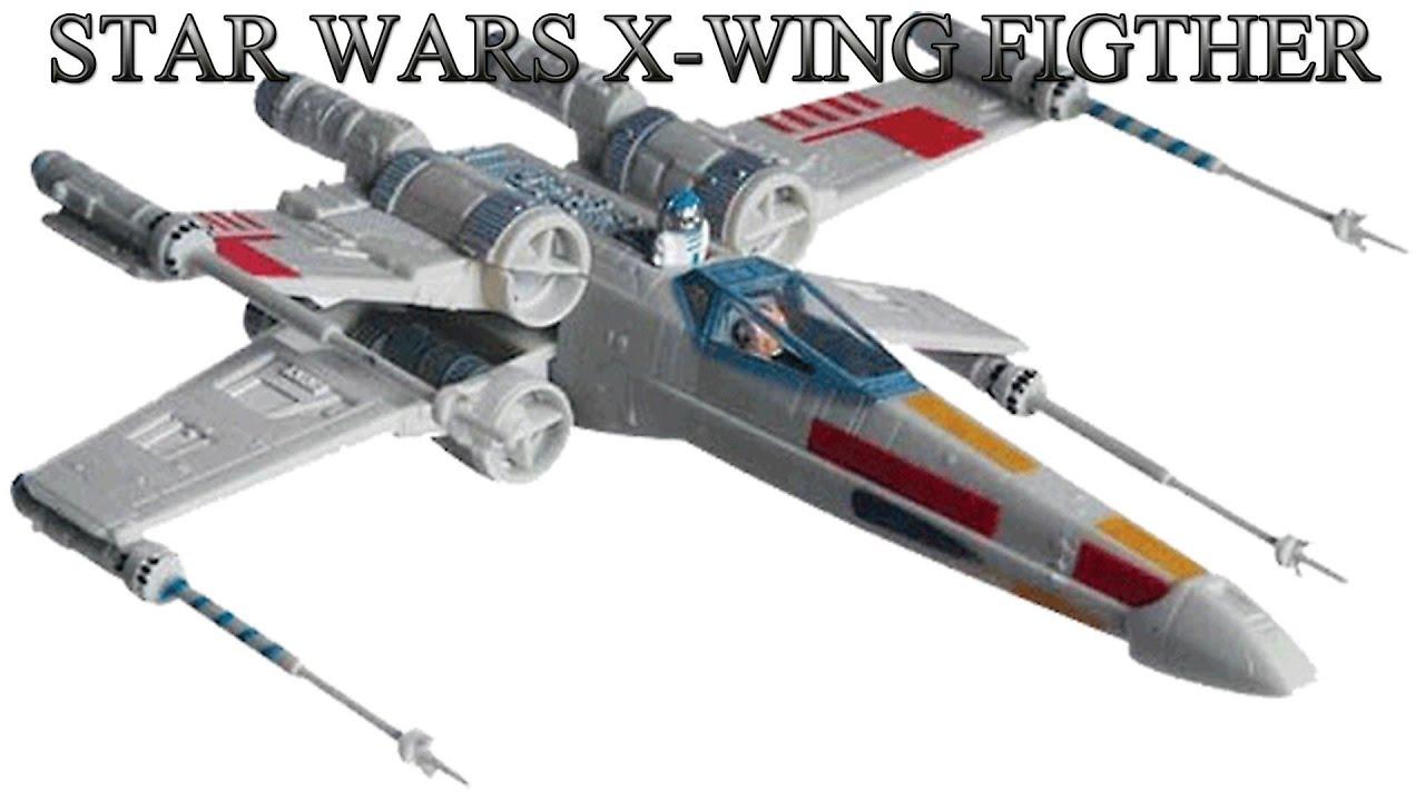 Uncategorized Luke Skywalker Ship star wars maqueta x wing figther revell easykit youtube