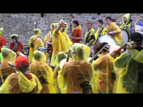 BOLD as BRASS performance brings Cork's historic Elizabeth Fort to life!