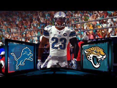 Madden NFL 17 Detroit Lions Franchise- Year 2 Superbowl LII vs Jacksonville Jaguars