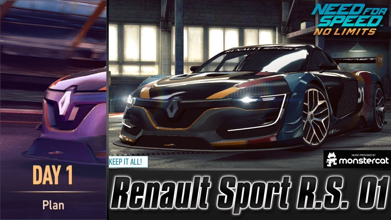 Need For Speed No Limits: Renault Sport R.S. 01 | Terminal Velocity (Day 1 - Plan)