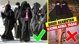 Suudi Arabistan Kadınları İçin Yasak Olan 11 Şok Edici Gerçek (Evde Kimse Yokken İzle)