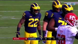 Rutgers vs Michigan Football 2017 Full Game HD