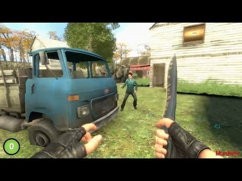 GARRY´S MOD: THE  MURDER (TENSIONES CONSTANTES)