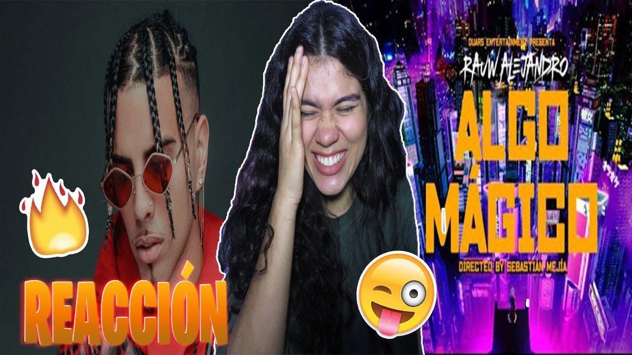 Rauw Alejandro - Algo Mágico (Video Oficial) *REACCIÓN