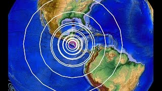 10/14/2014 -- Large 7.4M earthquake hits Nicaragua -- RAW Video + EQ Update