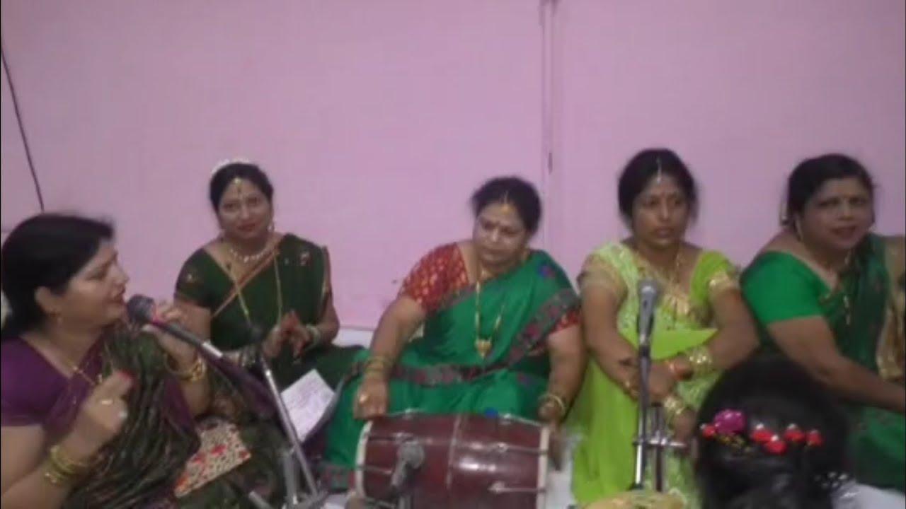 कजरी गीत -साखियों के साथ , वो धानी रंग चुनरी राजा !!!! #sangeet #singer #kajari