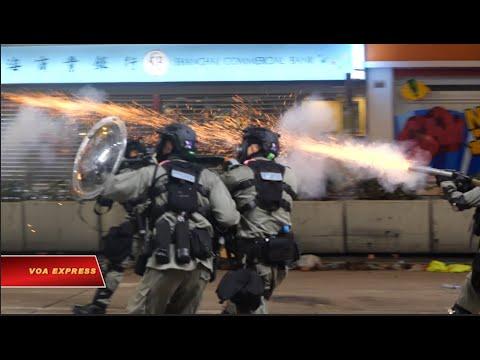 Truyền hình VOA 19/11/19: Hàng chục ngàn người Việt ủng hộ cuộc tranh đấu của sinh viên HK (VOA)