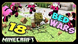 ч.18 Bed Wars Minecraft - Мы сломали сервер!!!