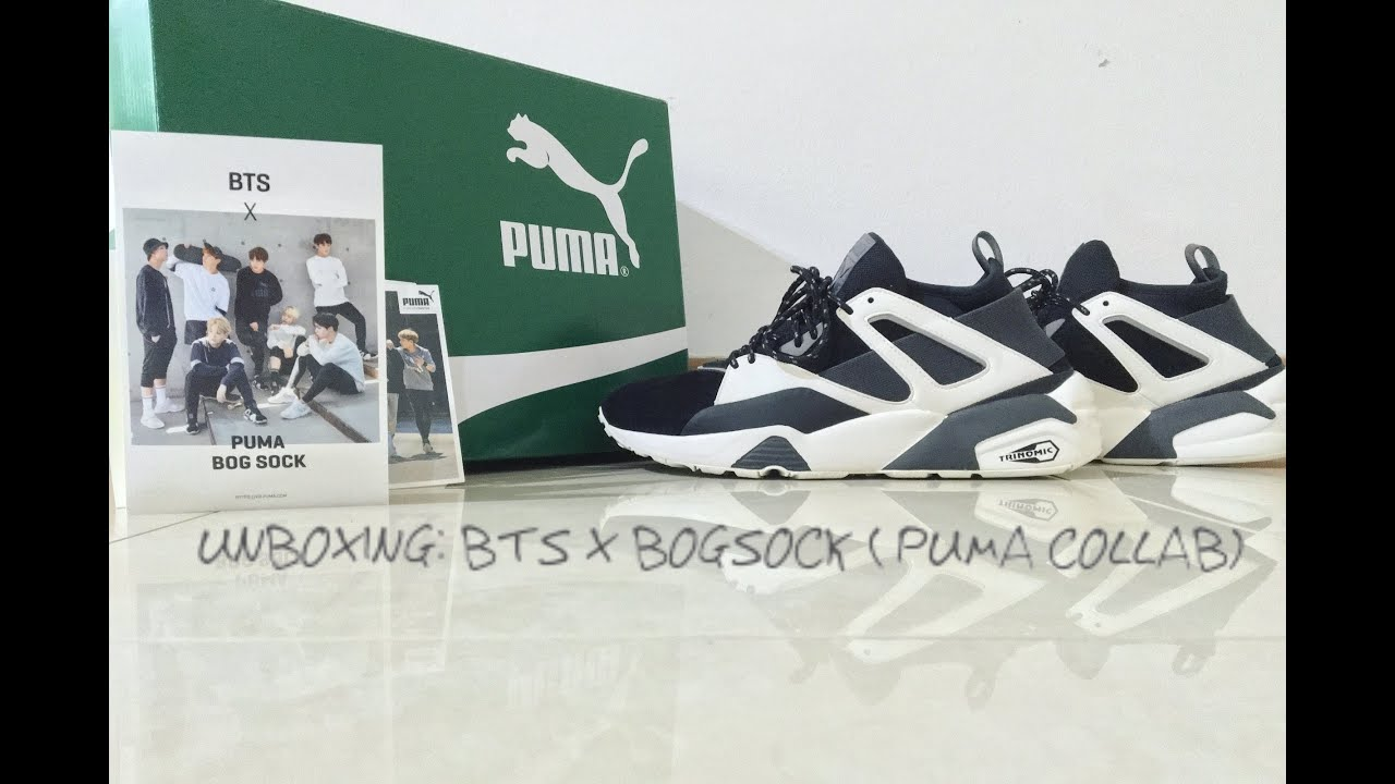bts x puma blaze shoes
