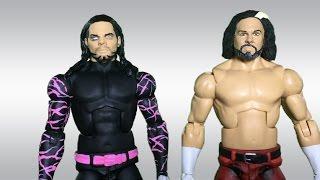 INSANE Broken Matt Hardy and Broken Brother Nero Custom WWE Action Figures