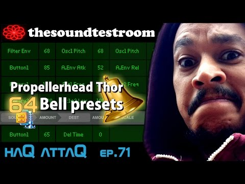 Propellerhead Thor for iPad │ 64 Bell presets FREE - haQ attaQ 71