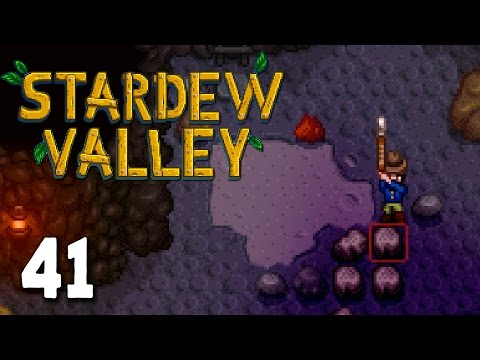 Stardew Valley Let's Play - Episode 41 - Deep Mining [Stardew Valley Gameplay] HD
