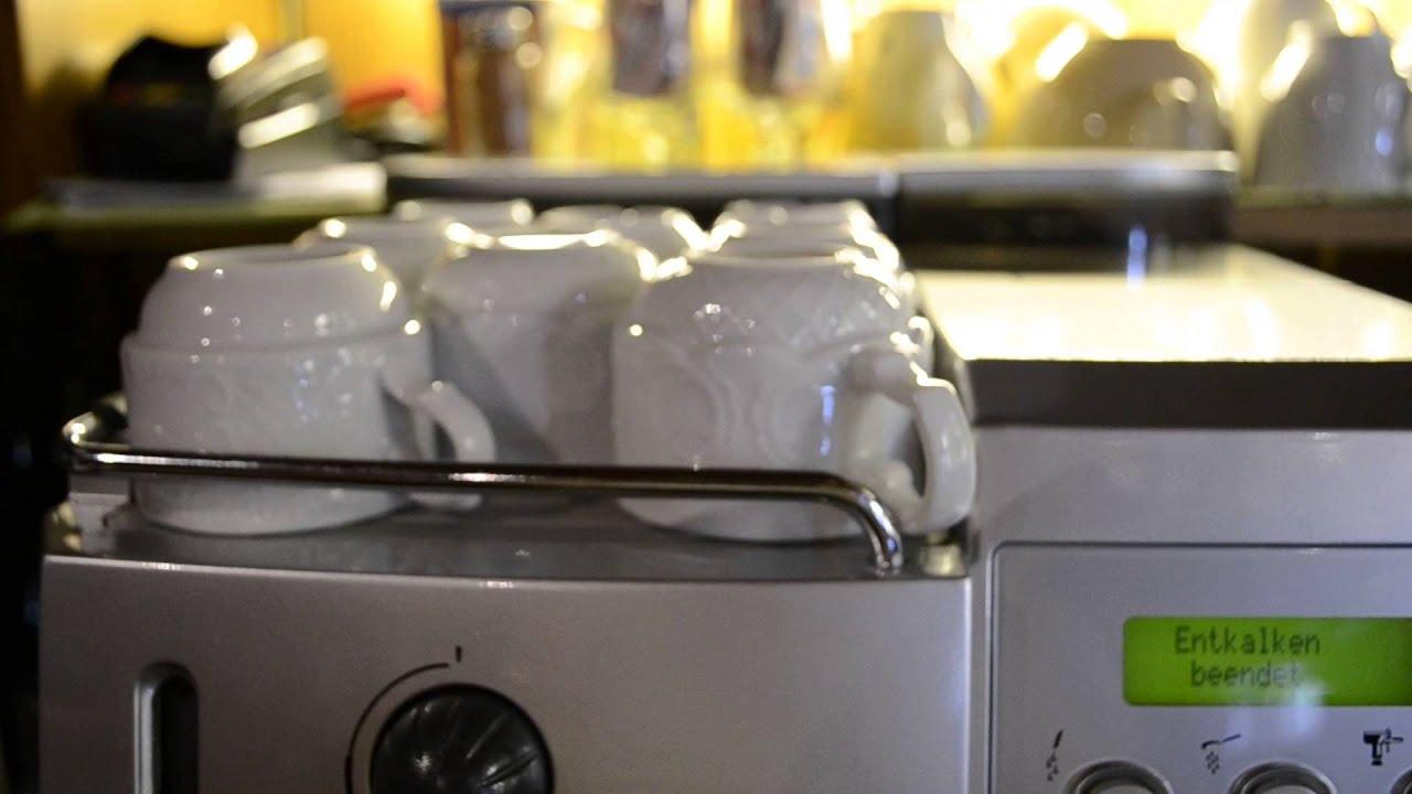 saeco royal cappuccino online entkalken youtube. Black Bedroom Furniture Sets. Home Design Ideas