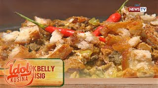Idol sa Kusina: Pork Belly-licious Sisig and Binagoongan