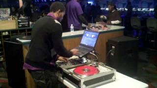 "DJ QuinnRaynor goin HAM @4:55 ""Up In Smoke""   Tity Boi (2Chainz)"