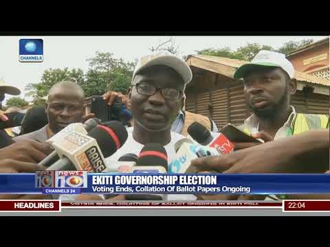 Ekiti Election: Voting Ends, Collation Of Ballot Papers Ongoing
