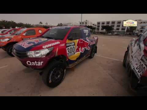 Video Clip Day  Rallye OiLibya Maroc