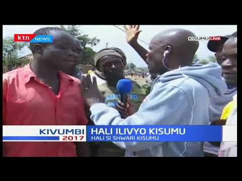These are the reasons why youths in Kisumu are up in arms with the police