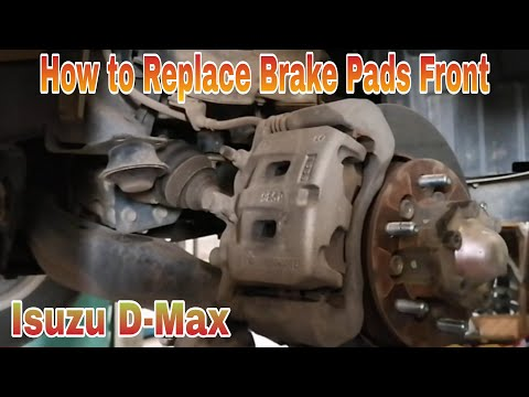 How to Replace Brake Pads Front Isuzu D-Max