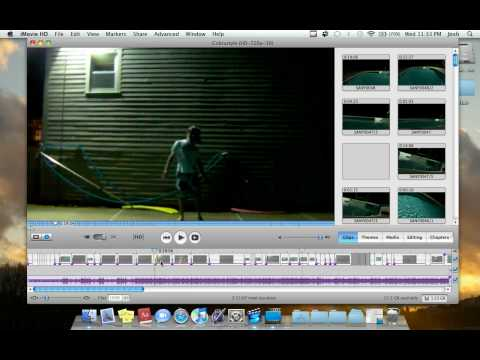 How To Make A Music Video On Your Mac + Imovie HD Basics and Overview