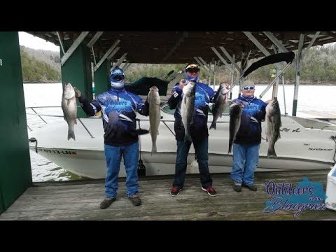 S2E3 - BIG Striper Fishing