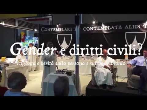 "Carbone - Puccetti ""Gender e diritti civili?"" Rimini, 22/08/2015 - OPmeetings"