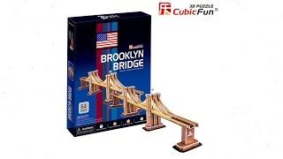 """Puente de Brooklyn"" | ""Brooklyn Bridge"" - Puzzle 3D"