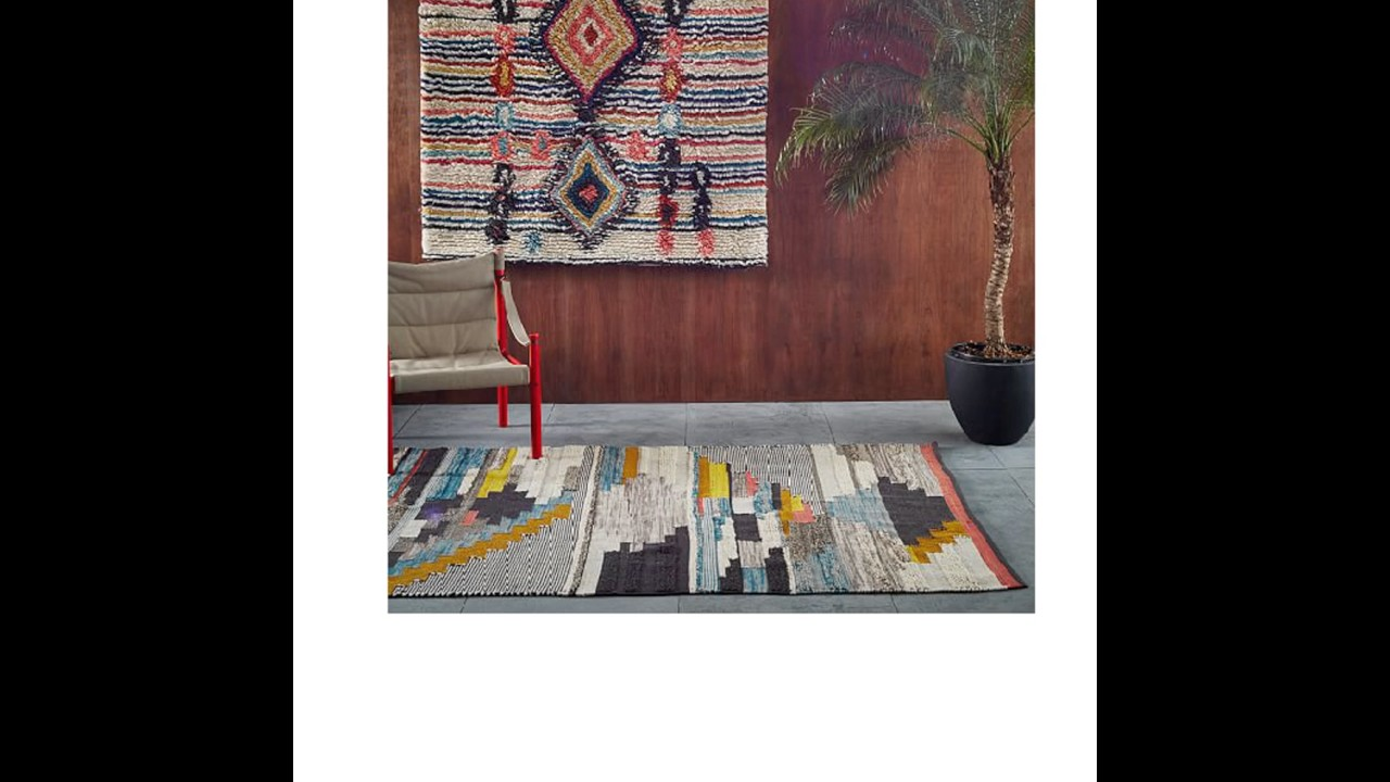 Thin Woven Rugs That Fit Under Doors Youtube