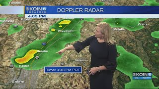 5 p.m. Monday evening forecast KOIN 6 News April 16, 2018