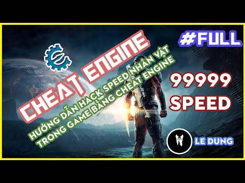 cách hack game online bằng cheat engine - Hướng dẫn sử dụng Cheat Engine để hack tốc độ nhân vật   Speed hack with Cheat Engine