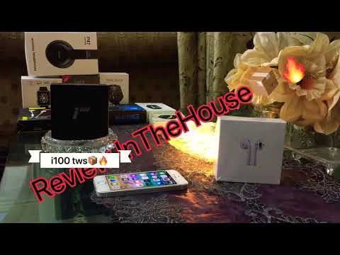 i100-tws-airpods-unboxing-+-proper-review