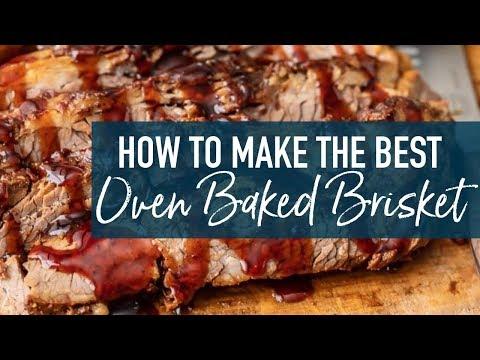Oven Baked Brisket