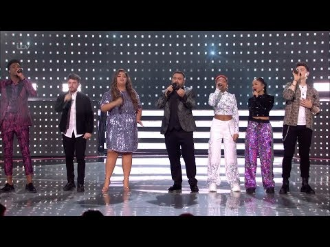 The X Factor UK 2018 Finalists ABBA Tribute Live Semi-Finals Night 1 Full Clip S15E25