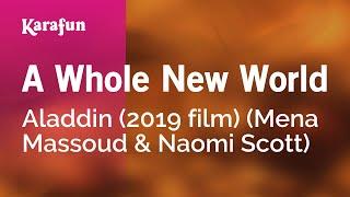 Karaoke A Whole New World - Aladdin (2019 film) *