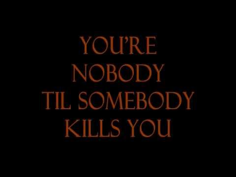 The Notorious B.I.G - You're Nobody Till Somebody Kills You (Lyric Video)