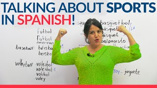 How to talk about Sports in Spanish