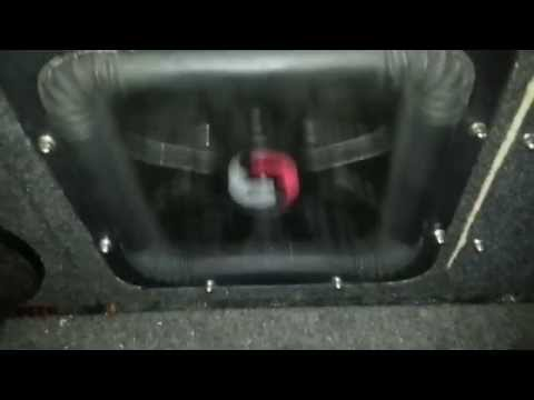 Single Subwoofer Solo X12 SPL Bass Rms Power 2500 Amp Zx2500.1