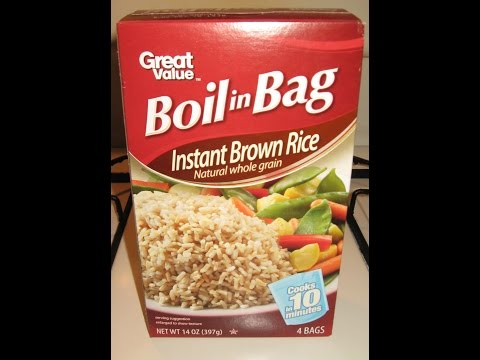 How to make instant brown rice softer