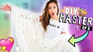 DIY MASTER EP 2: Chunky Knit Blanket!
