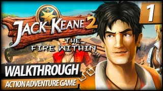 Jack Keane 2: The Fire Within Walkthrough Gameplay - PART 1 | Intro (Commentary)