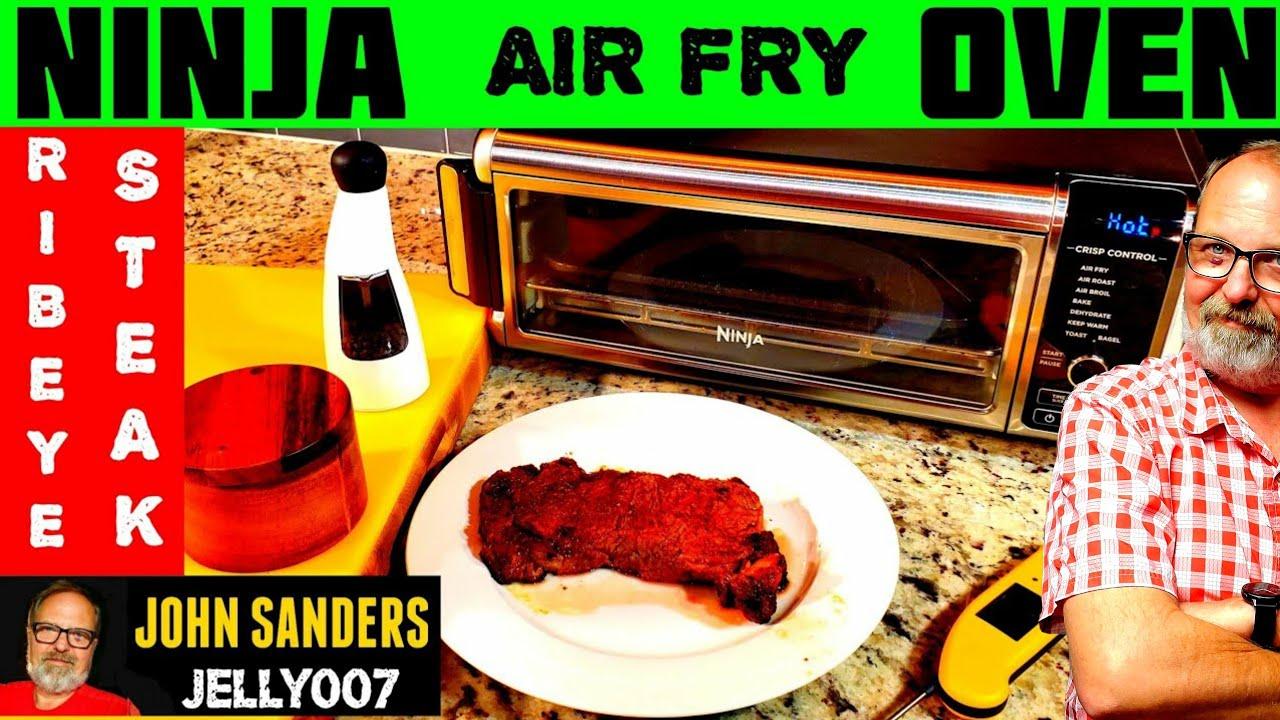 AIR BROILED STEAK | NINJA OVEN DIGITAL AIR FRY TOASTER