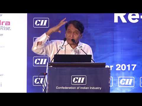 Shri Suresh Parabhu, Minister of Commerce and Industry speaking on Manufacturing, creating Job