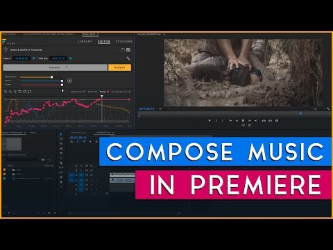 Compose Music Inside of Premiere