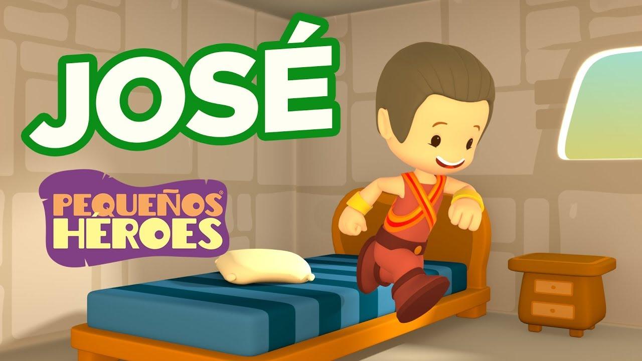 Historias de la Biblia para niños – José – Pequeños Héroes