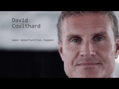 David Coulthard - make opportunities happen