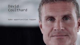 David Coulthard - make opportunities happen