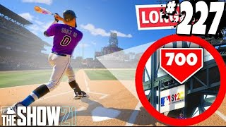 LONGEST HOME RUN OF THE SEASON! MLB The Show 21   Road To The Show Gameplay #227