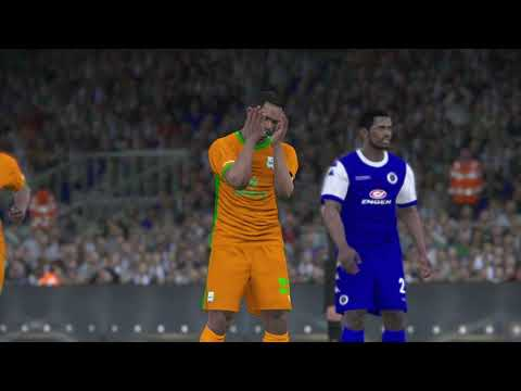 PS4 PES 2017 Gameplay Supersport United vs ZESCO United HD