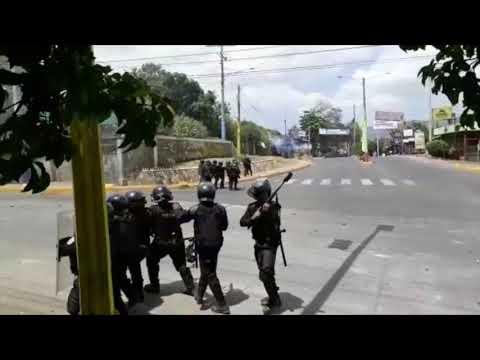 Así estuvieron las protestas por las reformas al INSS en Managua