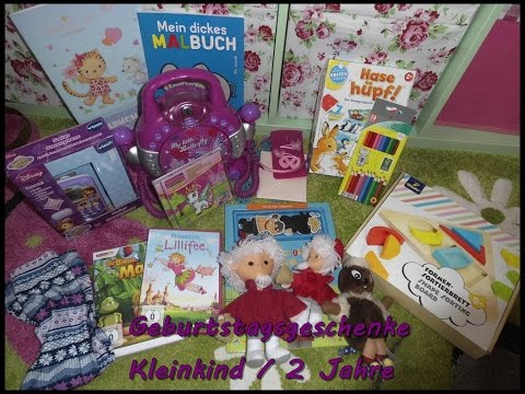 Pia's Geschenke / 2. Geburtstag | Kleinkind | 2 Jahre | Biene Maja | Sandmännchen | missmo186